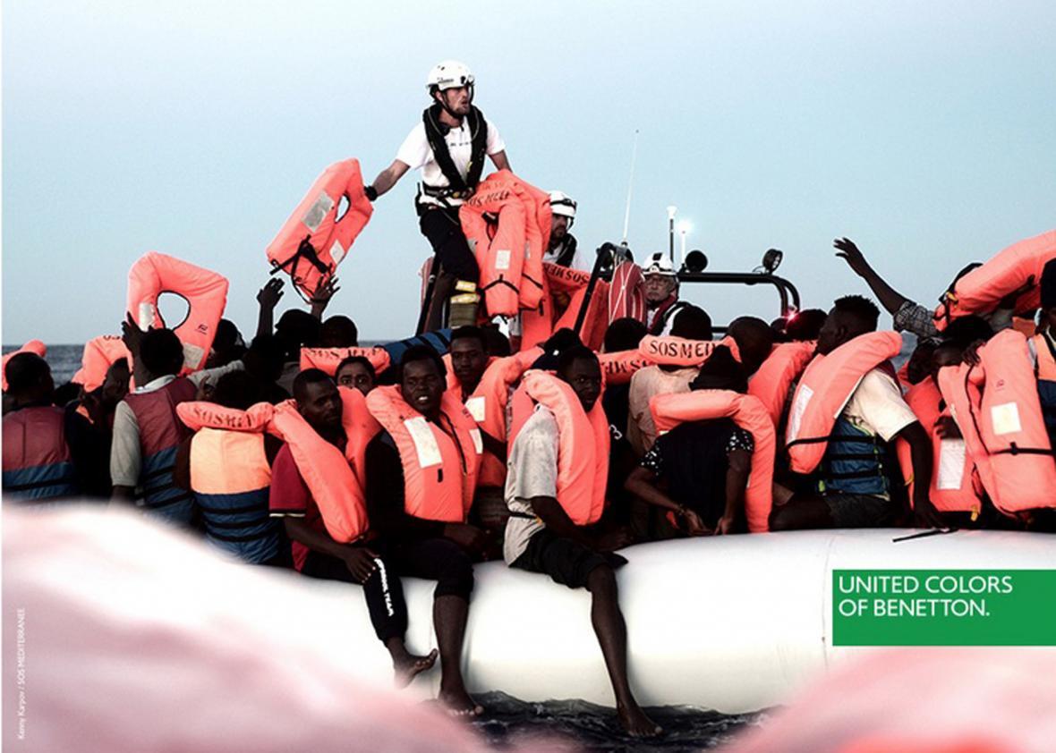 Kampaň s migranty