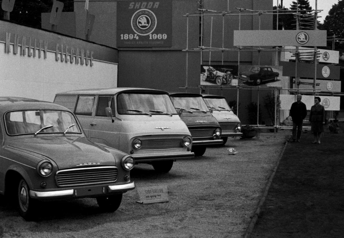 Škoda 1203 slaví 50 let od zahájení sériové výroby