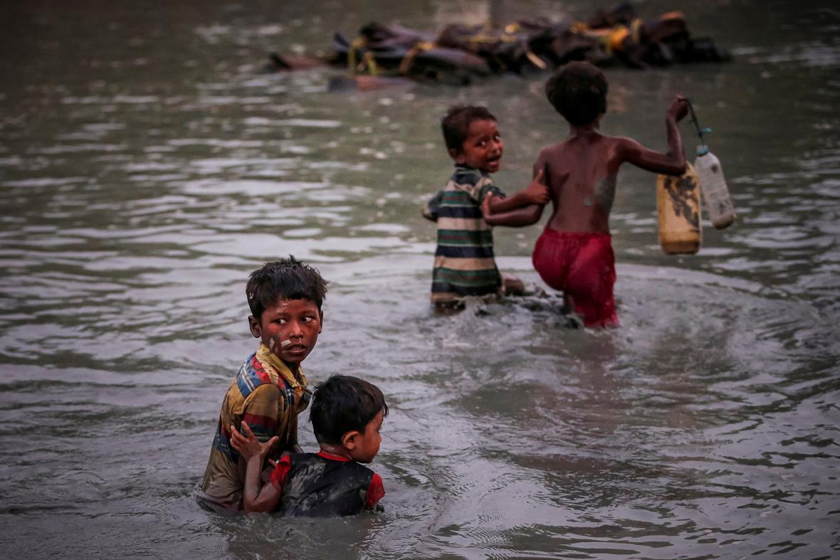Rohingští uprchlíci a oběti násilí v Myanmaru