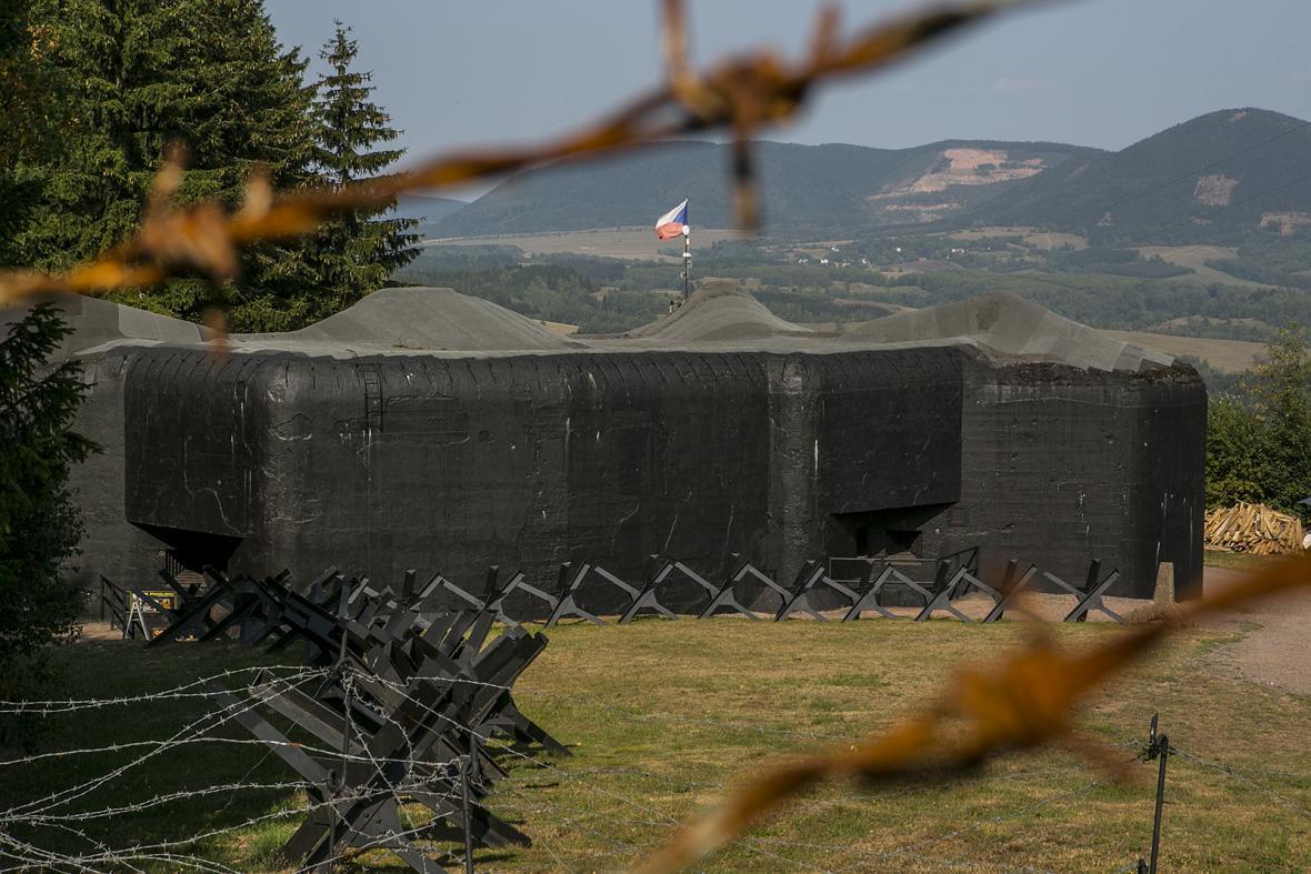 Pěchotní srub T-S 73 dělostřelecké tvrze Stachelberg