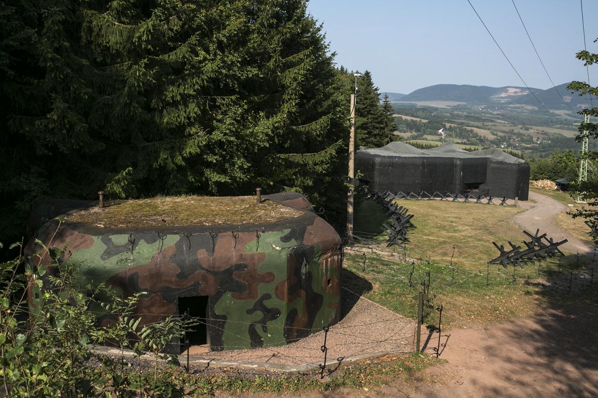 Objekty dělostřelecké tvrze Stachelberg