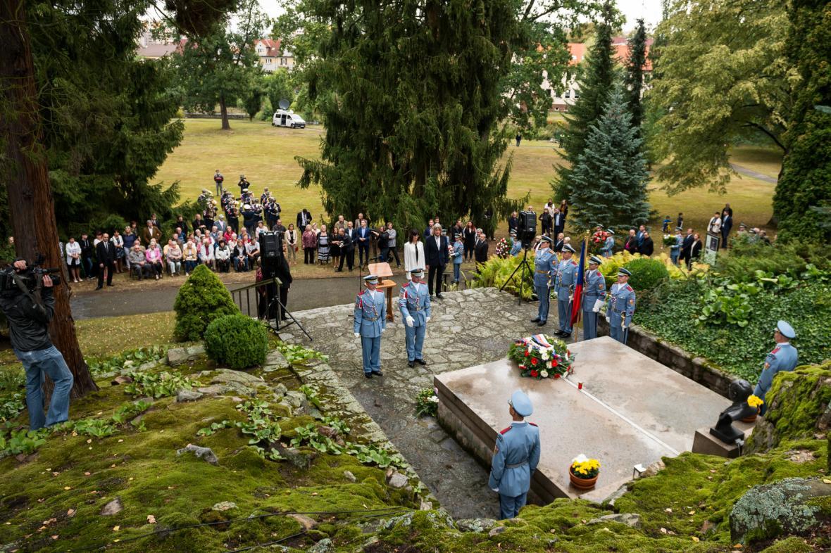 Pietní akt při příležitosti 70. výročí úmrtí prezidenta Edvarda Beneše