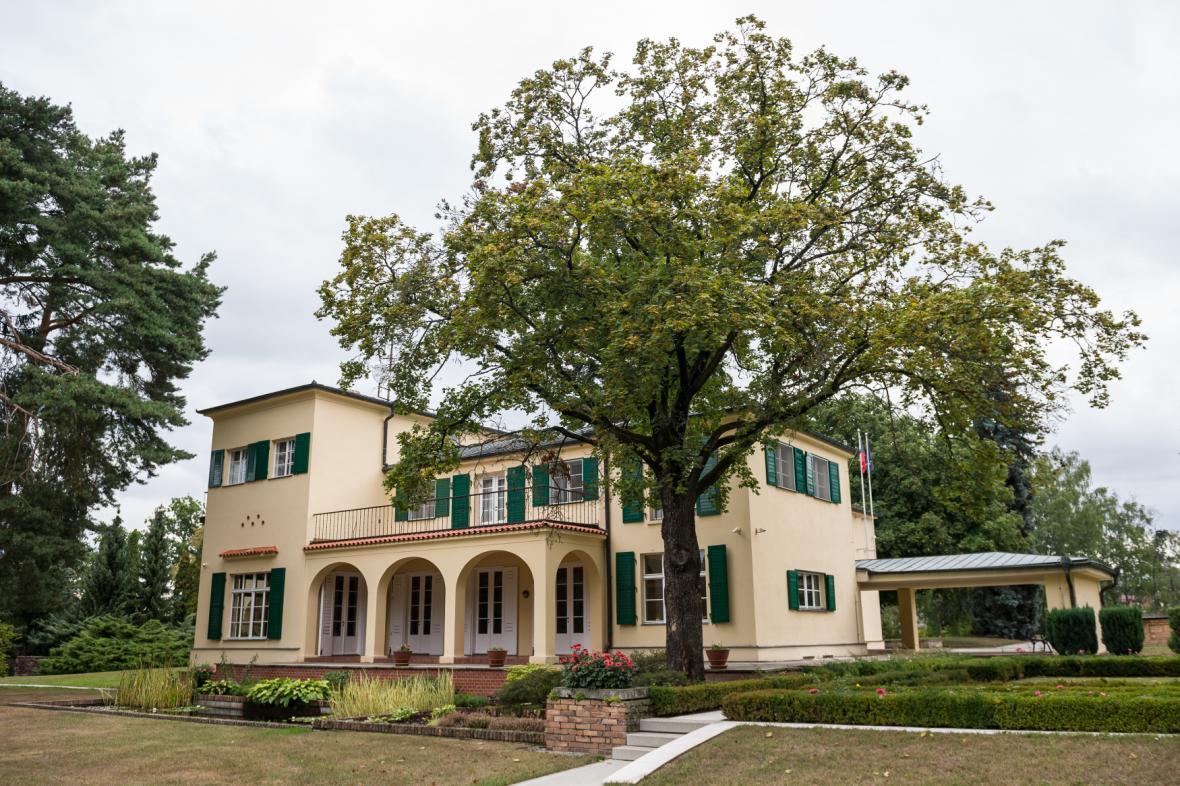 Vila manželů Benešových v Sezimově Ústí