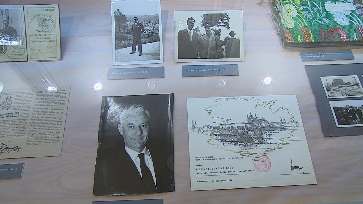 Výstava zachycující osudy rodiny Fuhrmanových v Löw-Beerově vile