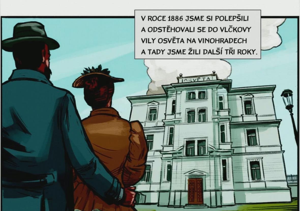 Z prezidenta Masaryka je nově i komiksový hrdina