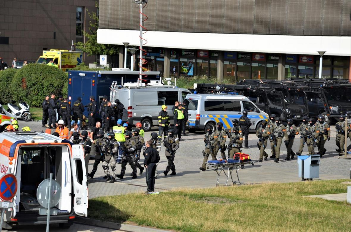 V Praze se odehrálo největší protiteroristické cvičení