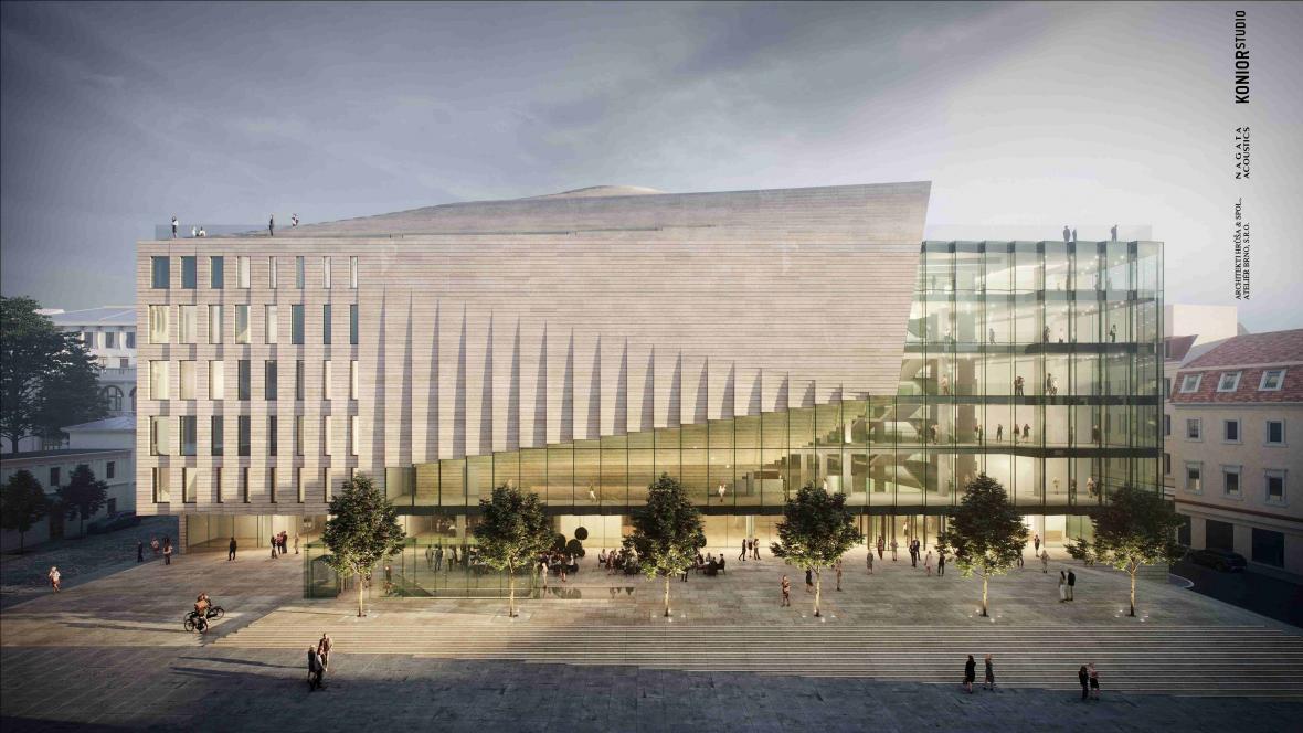 Janáčkovo kulturní centrum už má svoji podobu