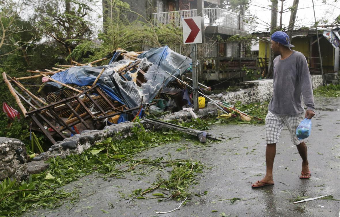 Následky tajfunu Mangkhut ve městě Tuguegrao