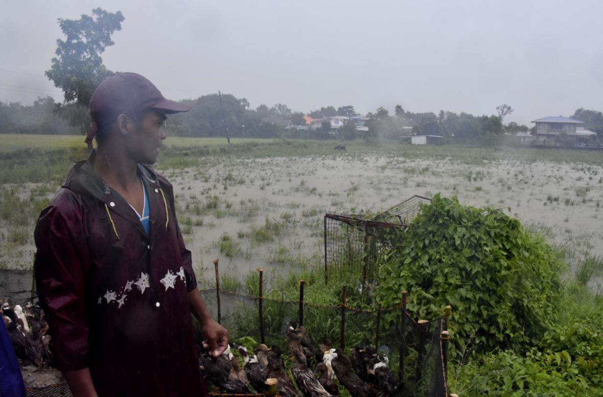 Tajfun Mangkhut pustoší Filipíny