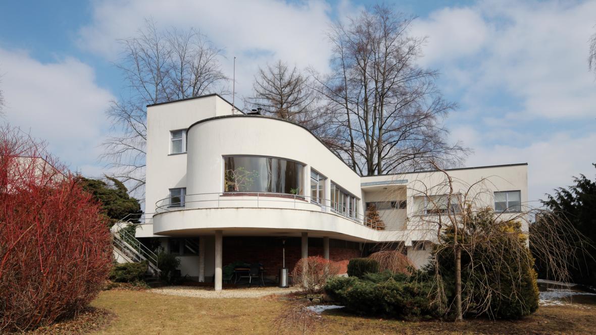 Z výstavy Architektura ve službách první republiky v Národní technické knihovně