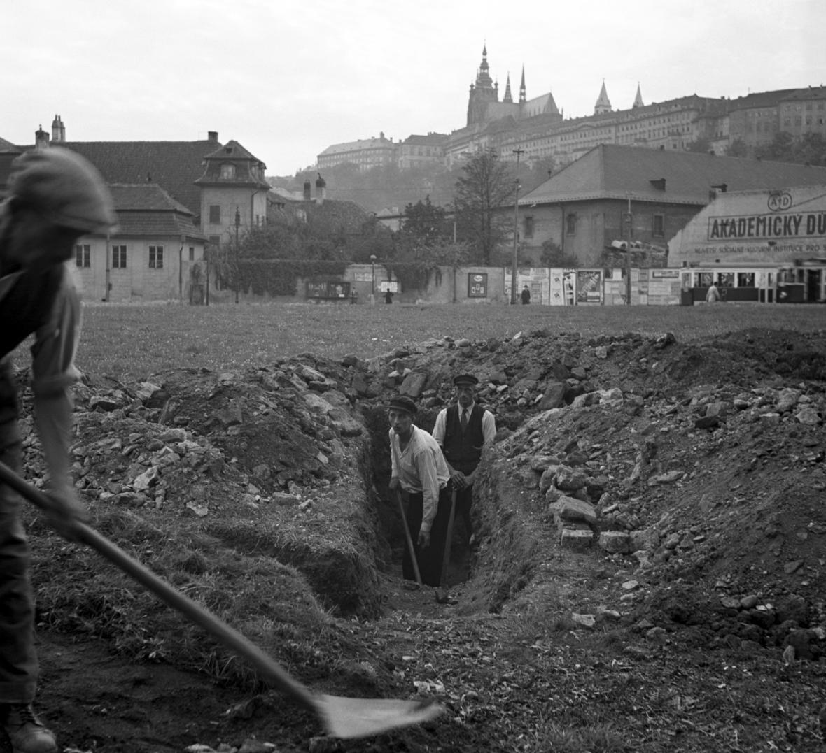 Všeobecná mobilizace v září 1938