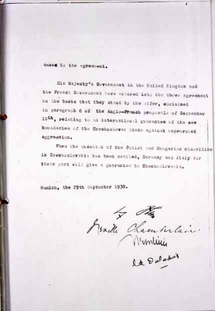 Mnichovská dohoda