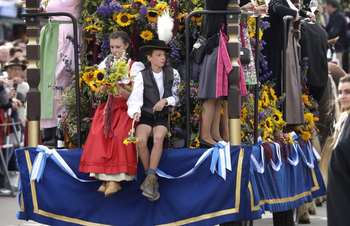 V Mnichově začal 185. ročník Oktoberfestu
