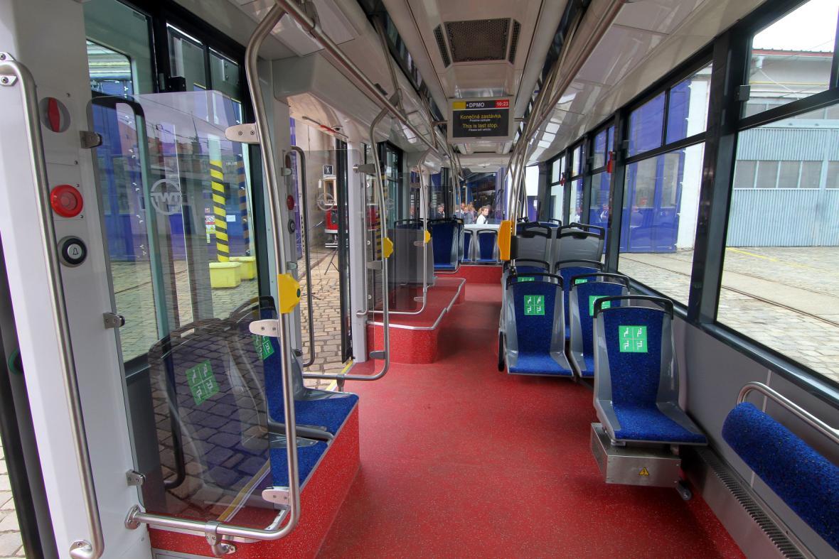 Nové tramvaje typu EVO