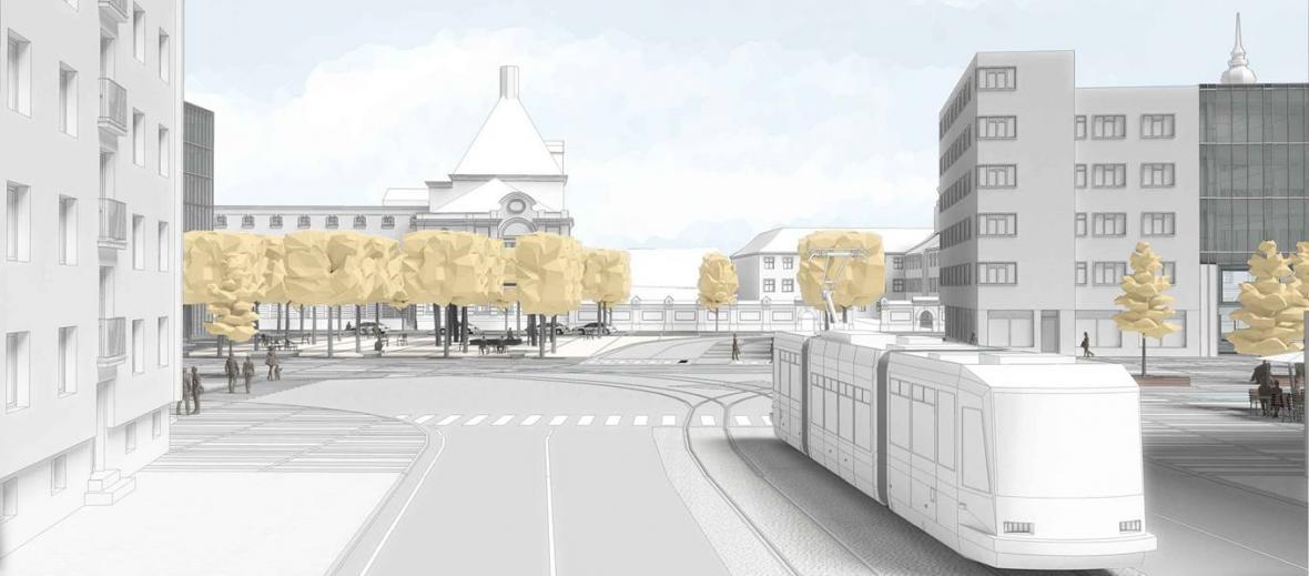 Třetí se umístila vizualizace Architektů Hrůša & spol., Ateliér Brno