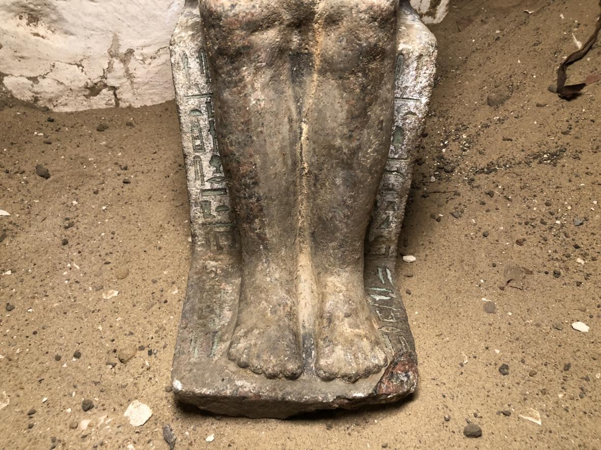 Pohřební komplex královského důvěrníka a kněze Kairese