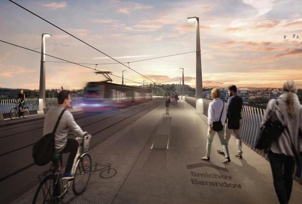 Vítězný návrh Dvoreckého mostu