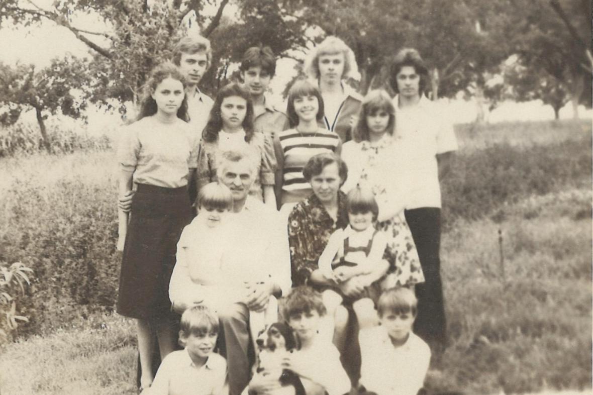 Petruchovi vychovali 13 dětí a loni oslavili diamantovou svatbu