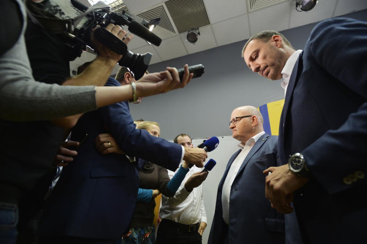 Momenty z volebních štábů: KDU-ČSL
