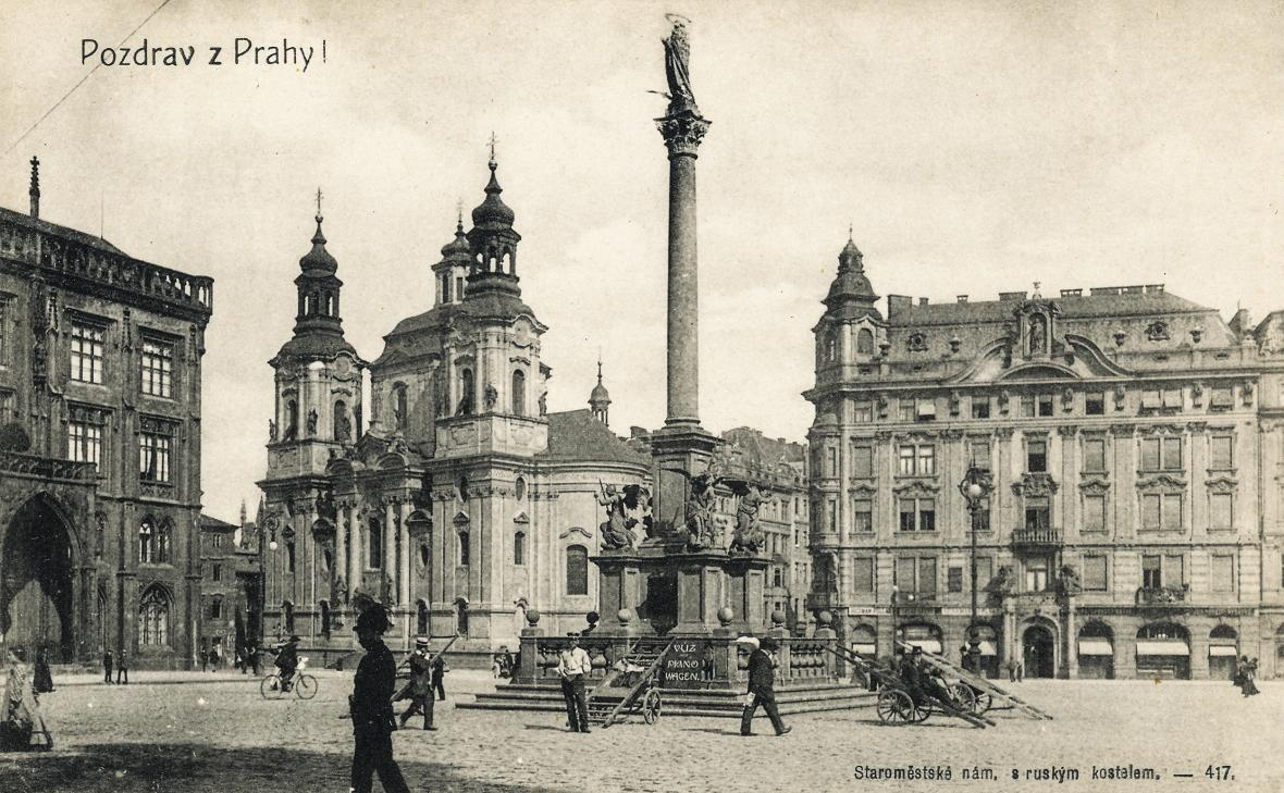 Praha 1918 a 2018