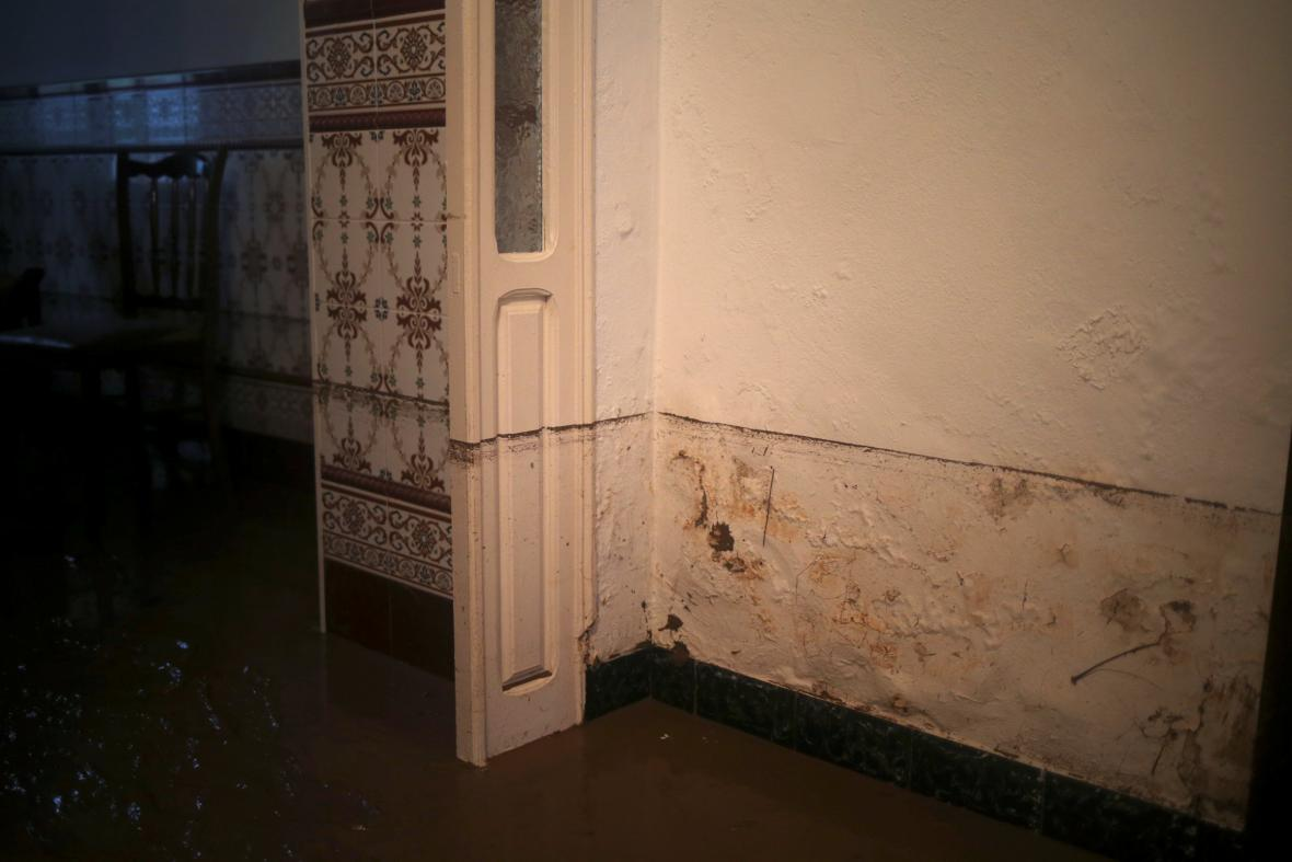 Záplavy na jihu Španělska