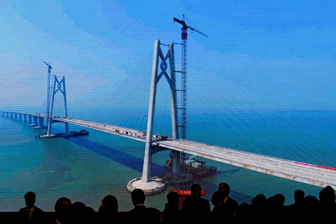 Most Hongkong - Macao - Ču-chaj