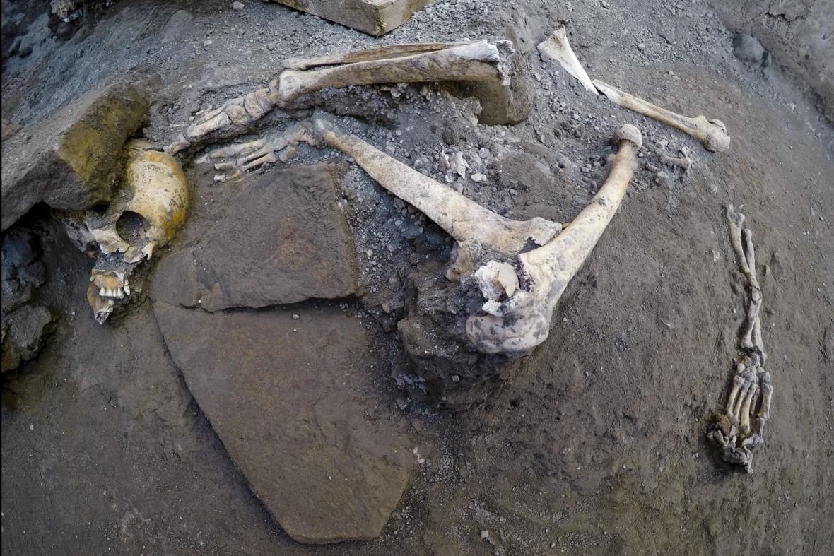 Nový nález v Pompejích
