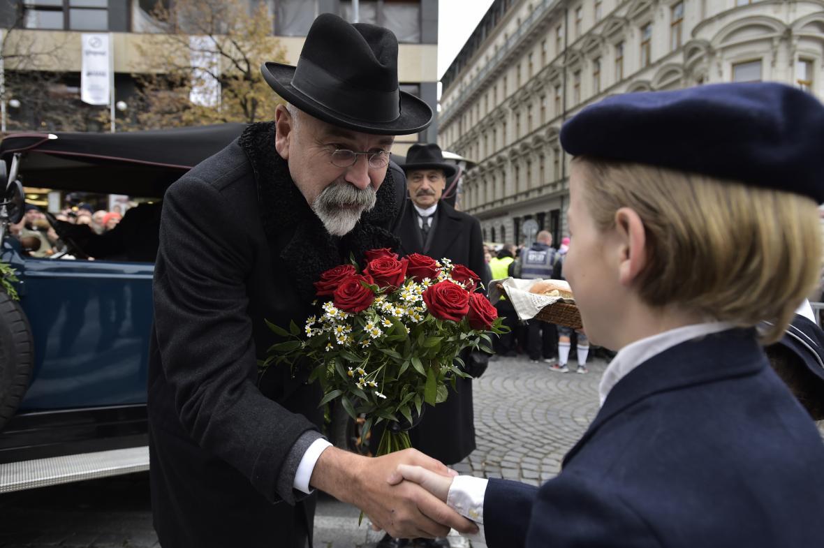 OBRAZEM: Oslavy stého výročí vzniku republiky