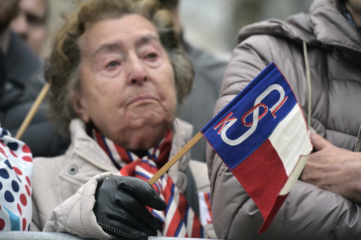 Československo slaví sté narozeniny. Pochodu pro republiku se účastnil i TGM