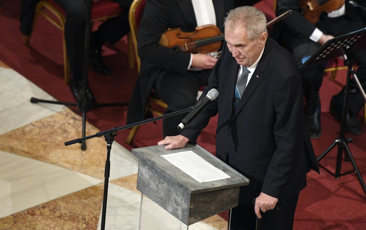 Miloš Zeman vystoupil na slavnostním otevření historické budovy Národního muzea