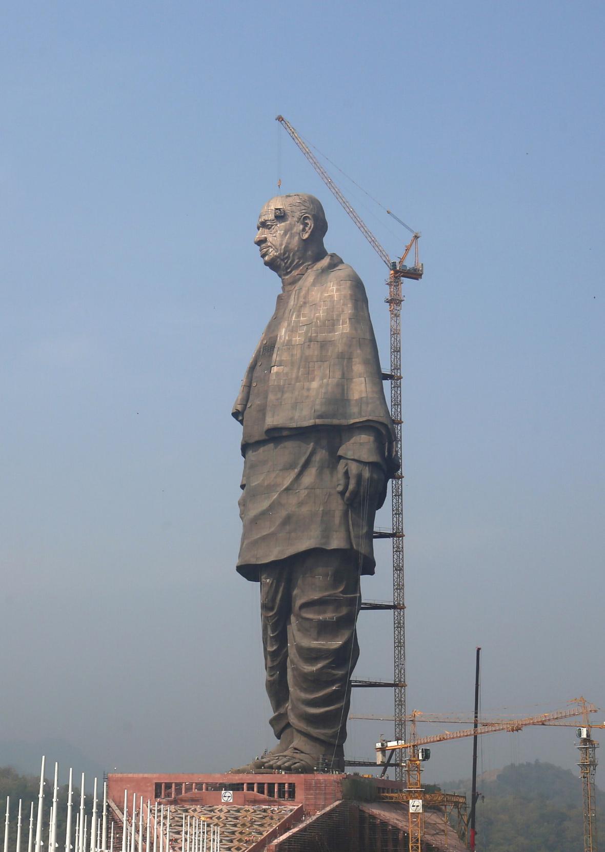 V Indii odhalili sochu Jednoty