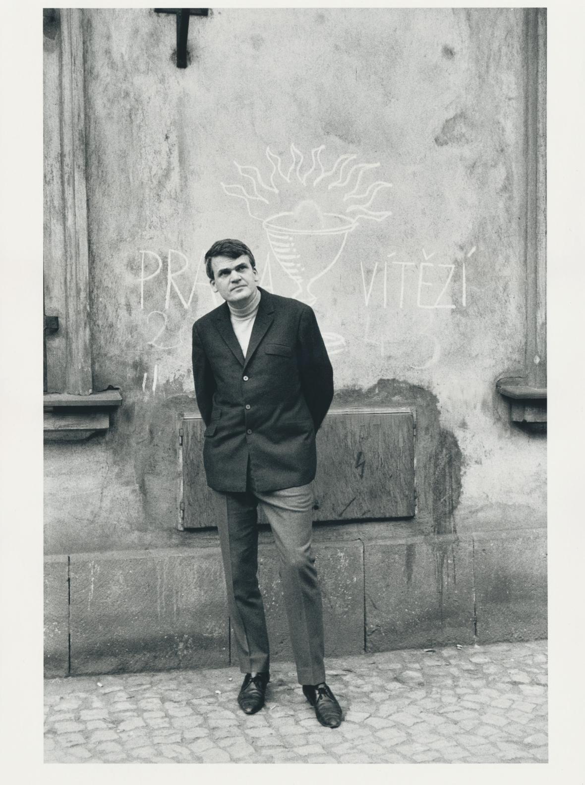 Z výstavy Havel, Kundera a Sudek očima fotografů v roce 1967