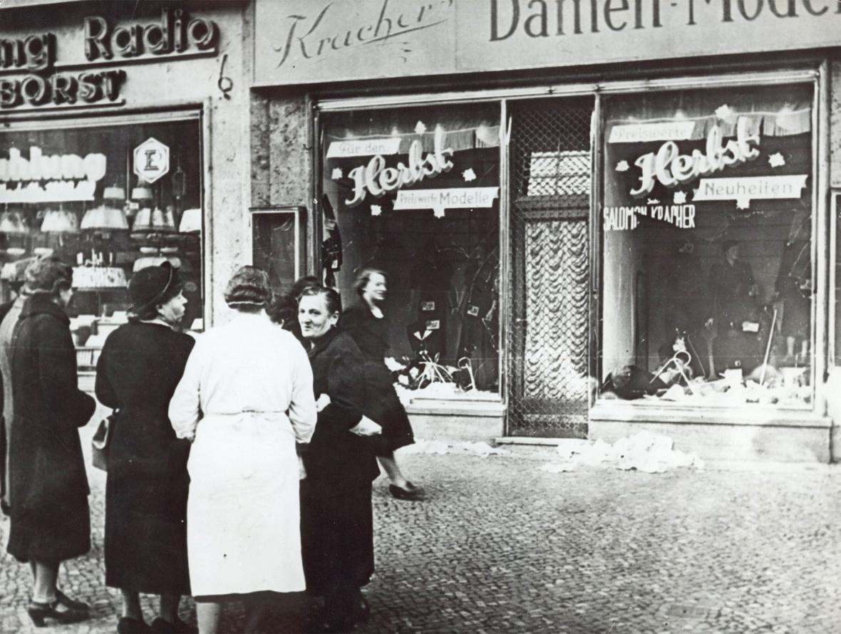 Křišťálová noc 1938