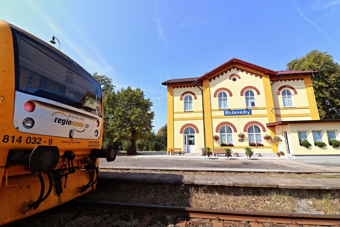 Nejkrásnější nádraží roku 2018 v obci Blíževedly