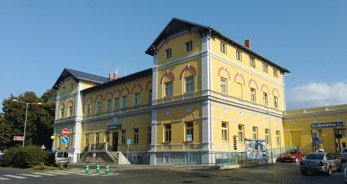 2. místo v soutěži o nejkrásnější nádraží roku 2018 - Litoměřice, horní nádraží