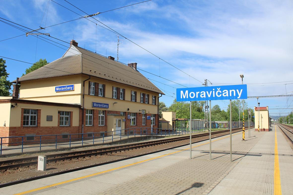 Cena souznění (zvláštní ocenění) v soutěži o nejkrásnější nádraží roku 2018 - Moravičany