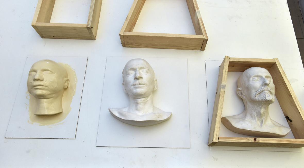 Výroba duplikátů posmrtných masek