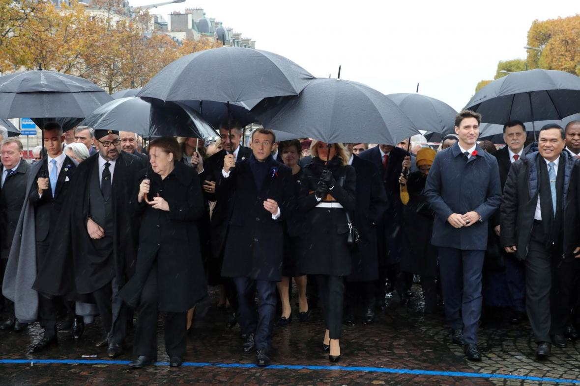 V Paříži si připomínají sté výročí konce první světové války