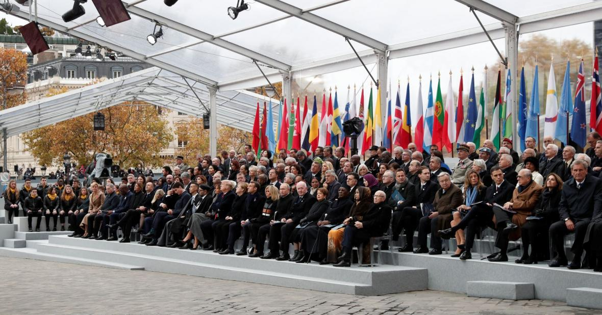 Hosté vzpomínkové ceremonie