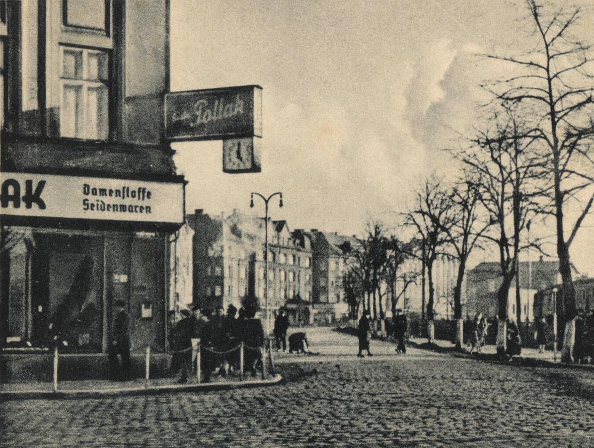 Historická podoba Nádražní ulice