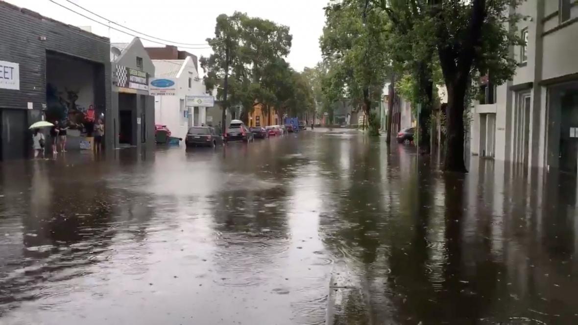 Záplavy v Sydney