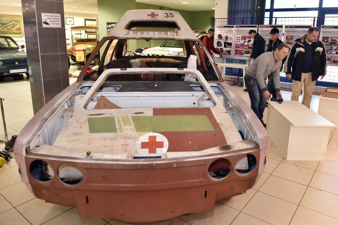 Výstava v Technickém muzeu Tatra v Kopřivnici