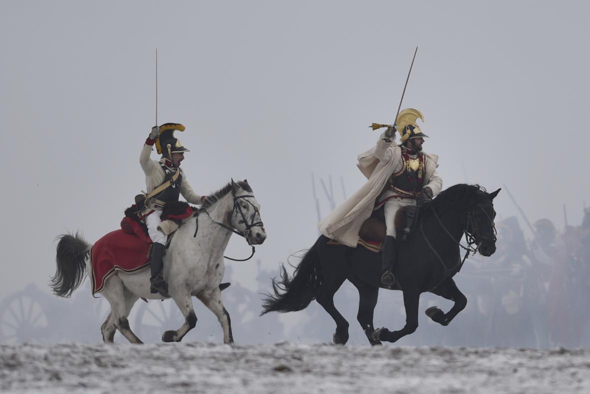 Připomínka 213. výročí bitvy u Slavkova u obce Tvarožná