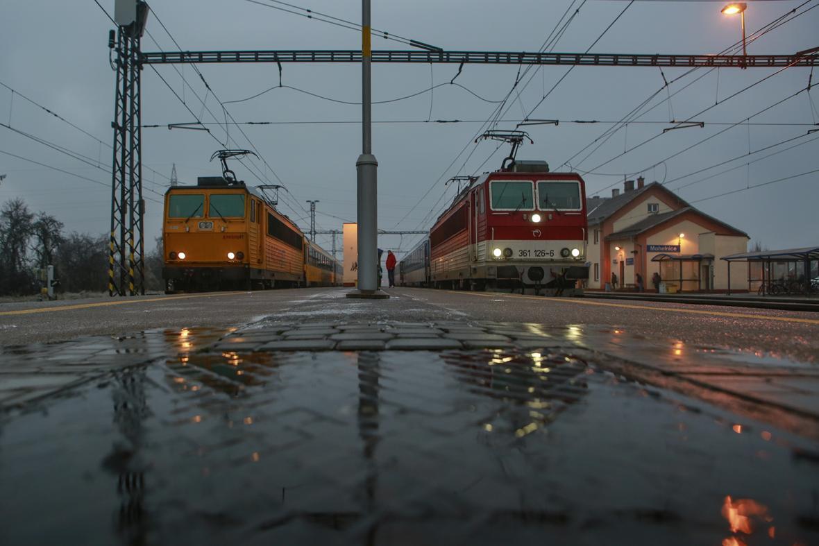 Mráz ochromil nádraží v Mohelnici