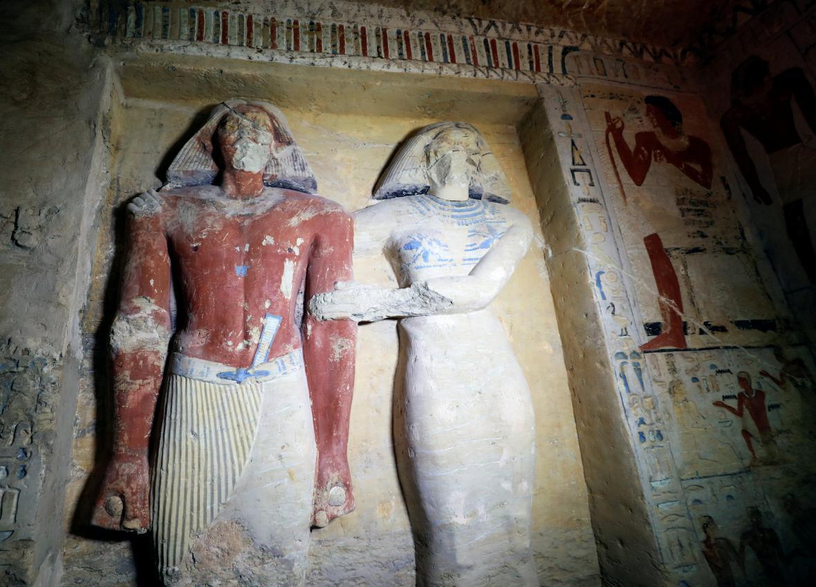 V Egyptě nalezli hrobku faraonova kněze starou 4400 let