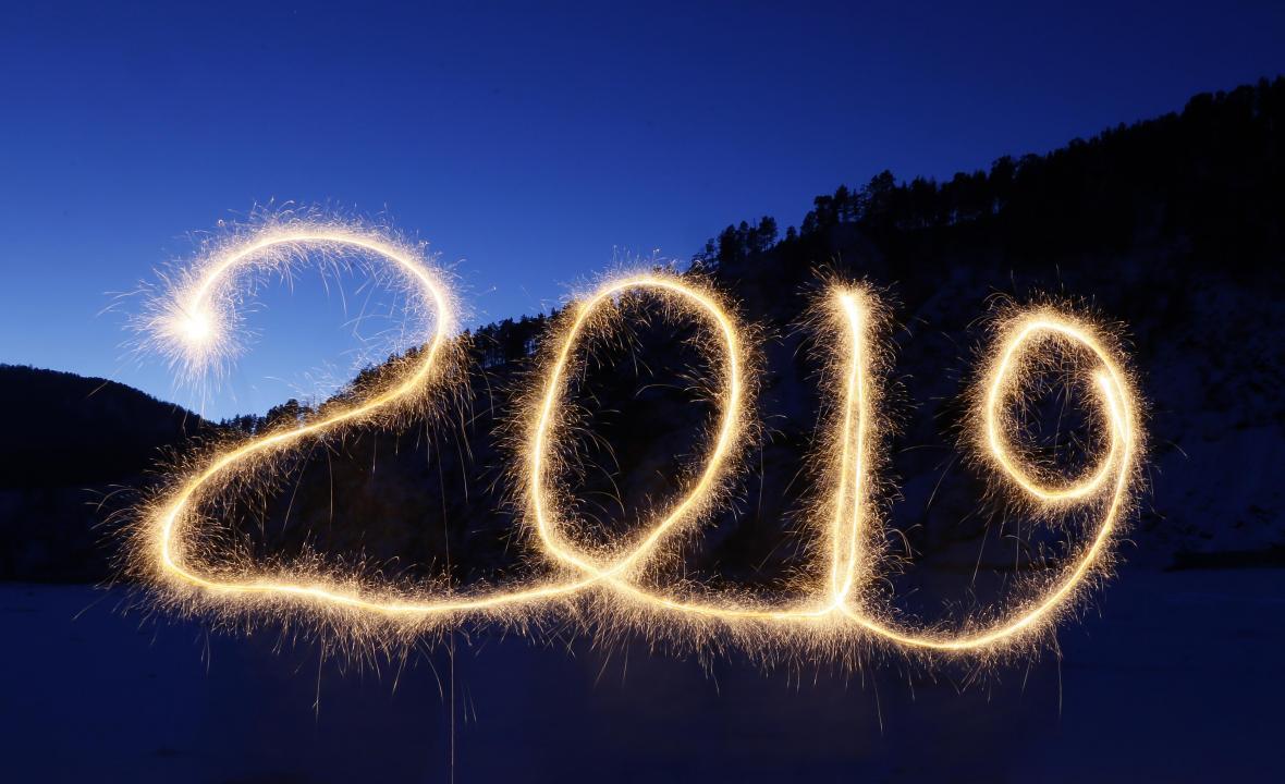 Svět vítá rok 2019