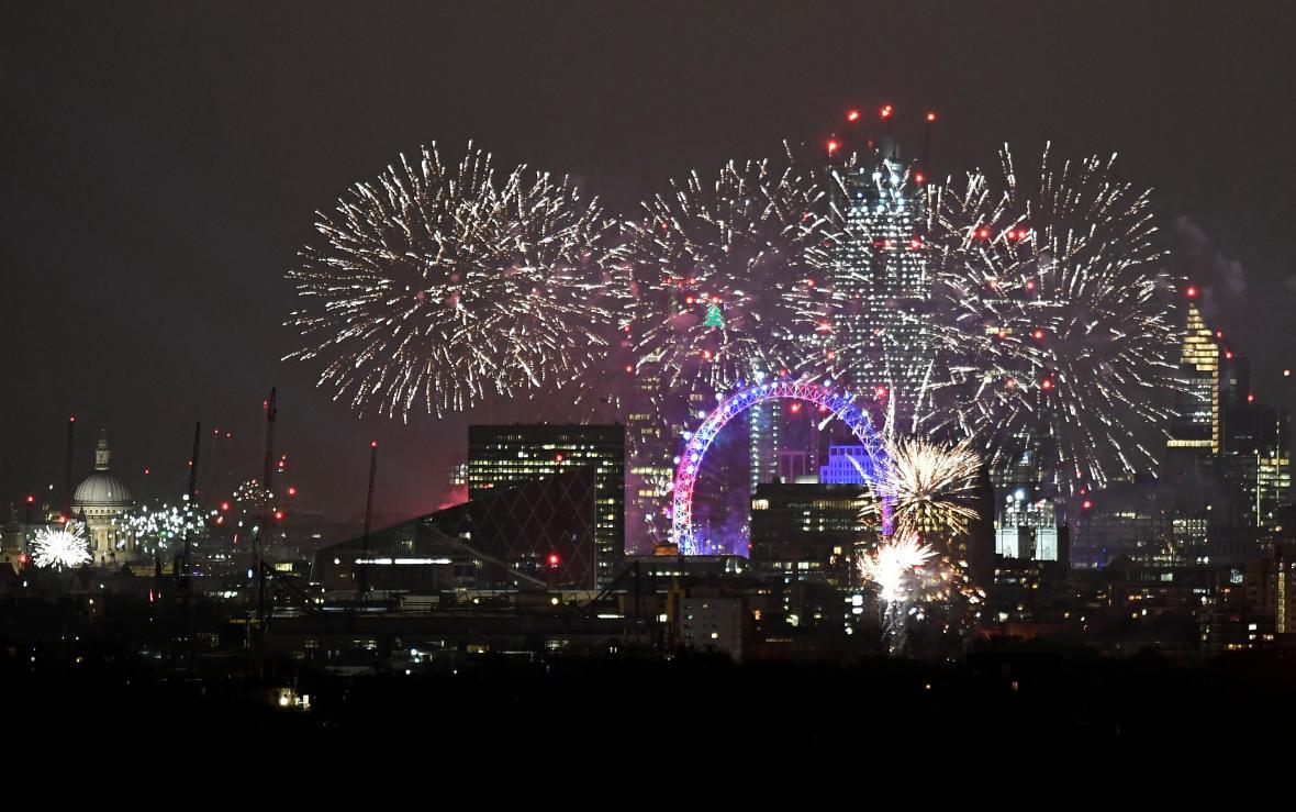Londýnské oslavy
