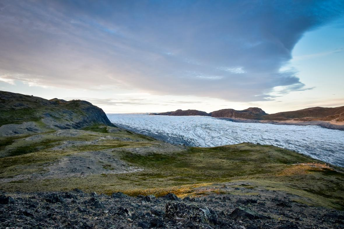Výzkum metanu v Grónsku
