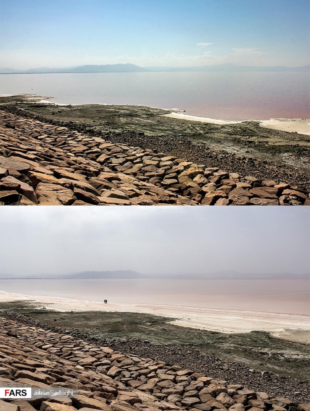 Proměna Urmijského jezera