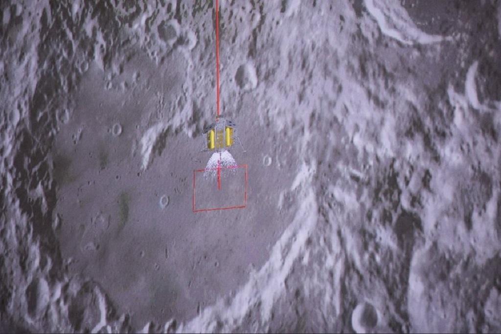Čínská sonda přistála na odvrácené straně Měsíce